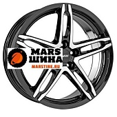 Изображение дисков 6x15/5x112 et45 d57,1 poison diamant black front polished | Марс шина - marstire.ru